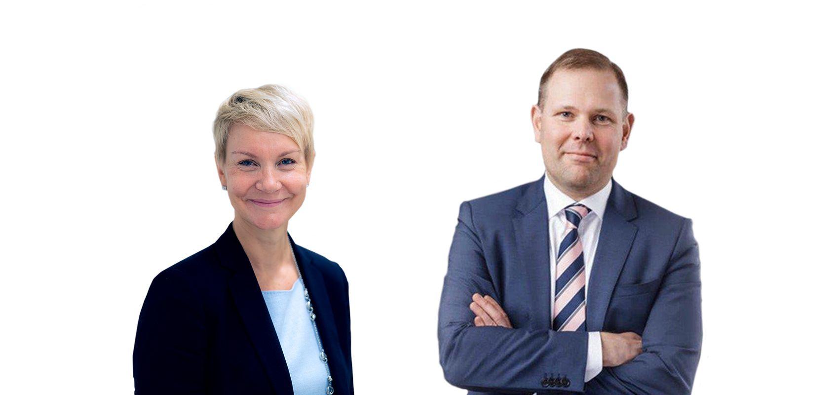 Kalle Härkki and Soile Kankaanpää